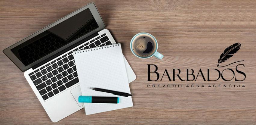 Agencija BARBADOS uspješno drži vodeću poziciju u prevođenju dokumenata