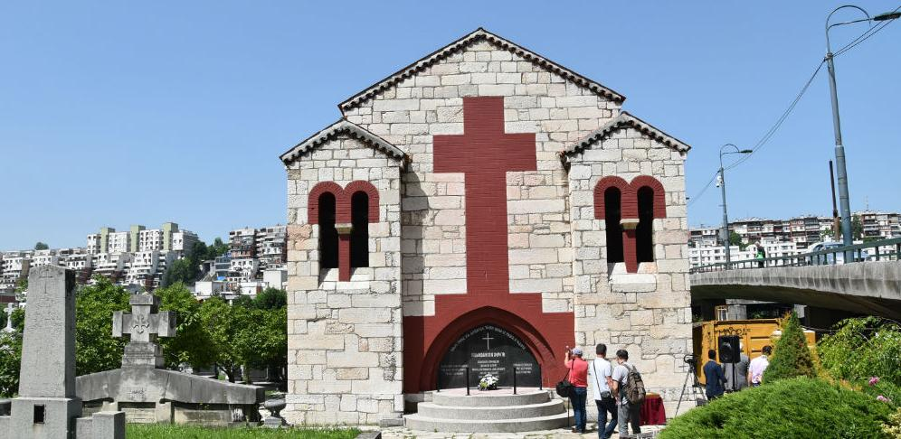 """Obnovljena kapela """"Sveti Arhanđeli"""" na starom pravoslavnom  groblju na Koševu"""