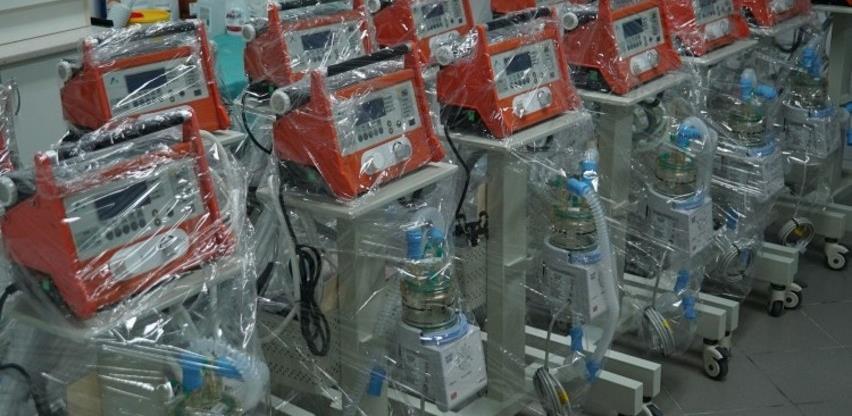 """Novo pismo anesteziologa s KCUS-a: """"Malina"""" respiratori se ne mogu koristiti za Covid-19 pacijente"""
