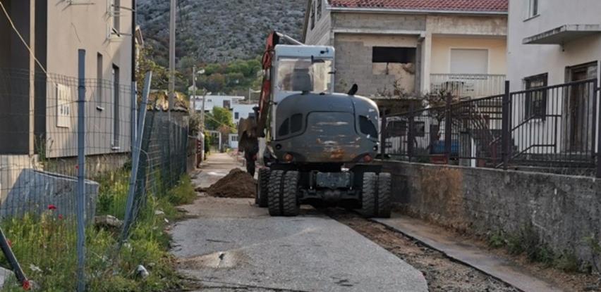 Počela izgradnja kanalizacionih kolektora u mostarskom naselju Opine