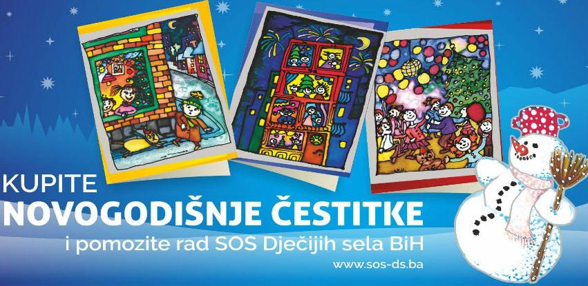 Kupite novogodišnje čestitke i pomozite rad SOS Dječijih sela BiH