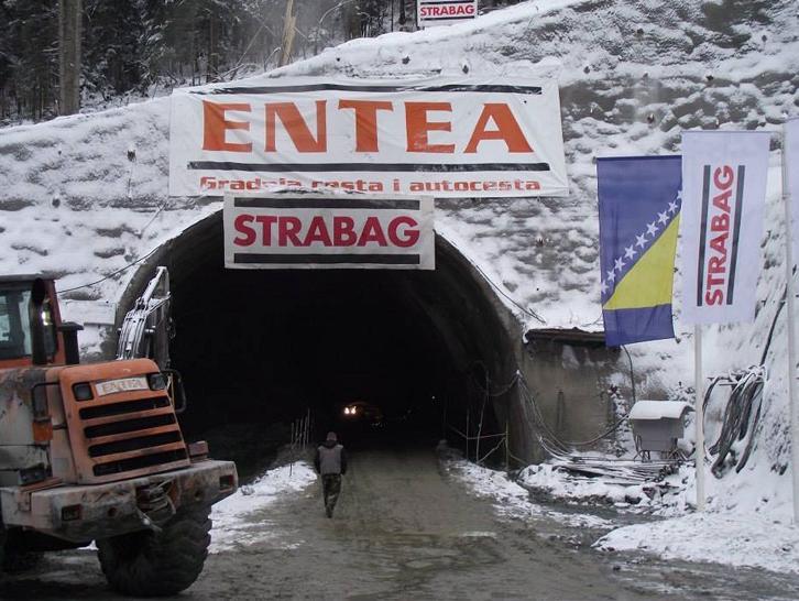 Kunovac: Probijanje tunela Karaula veliki uspjeh firme Entea i bh. građana