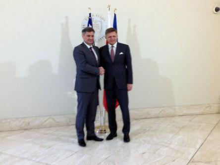 Zvizdić u Slovačkoj dobio snažnu podršku daljim EU integracijama