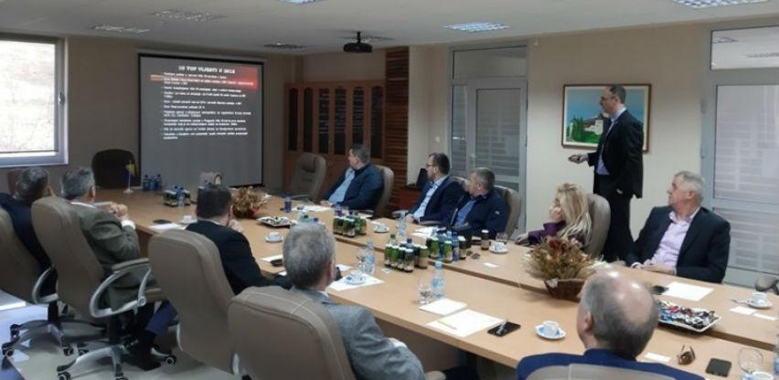 Delegacija Crne Gore posjetila Udruženje privrednika Biznis centar Jelah-Tešanj
