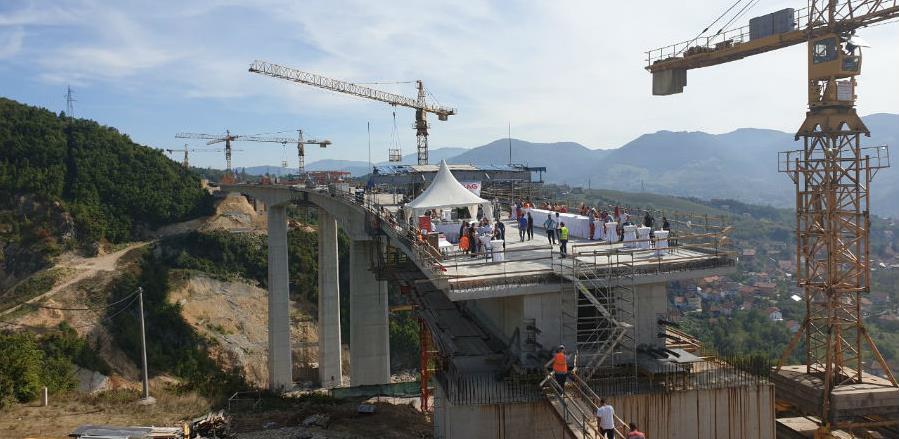 Izgrađen najviši vijadukt na Koridoru 5C