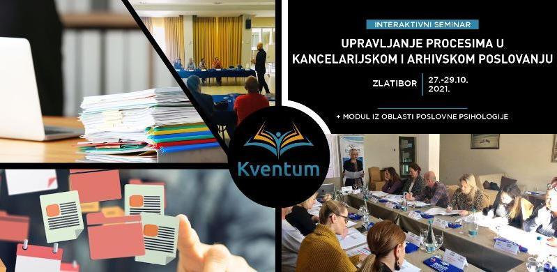 Interaktivni seminar: Upravljanje procesima u kancelarijskom i arhivskom poslovanju