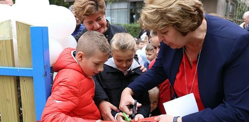 Otvorena dva nova igrališta za najmlađe Zeničane