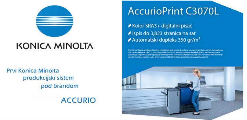 Produkcijski sistem pod brandom ACCURIO by Konica Minolta na 3. PDF-u