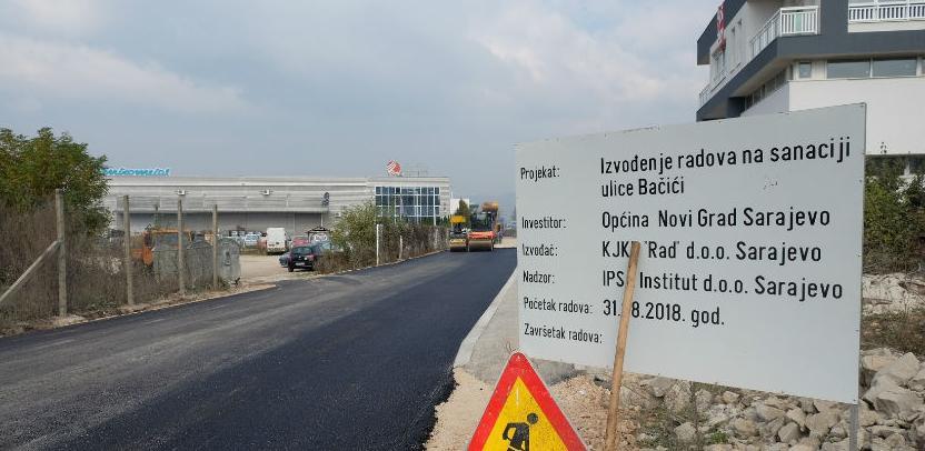 Privredni subjekti u industrijskoj zoni Bačići dobijaju novu saobraćajnicu