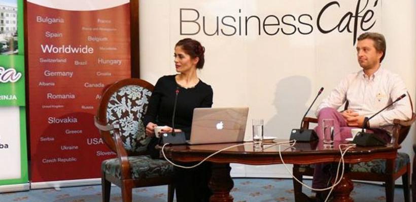 18. Business cafe na Sajmu privrede u Tešnju