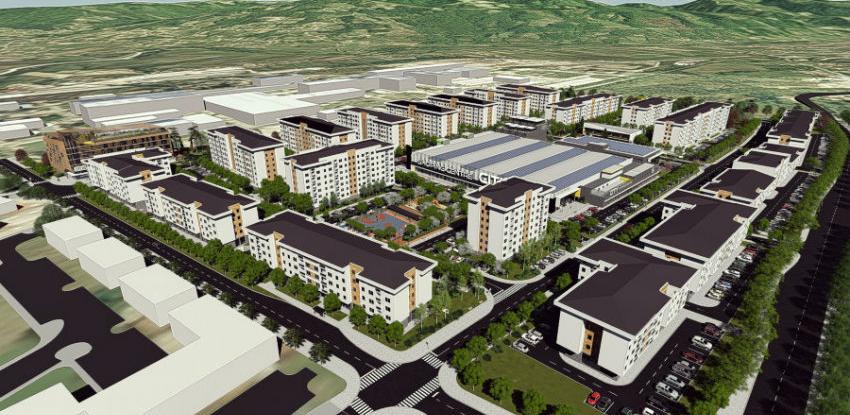 """Hidro-kop gradi City block - """"grad unutar grada"""""""