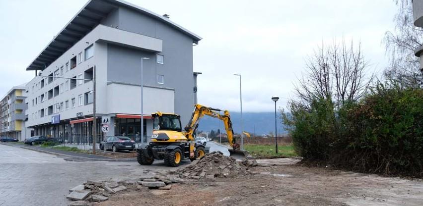 Počela obnova Trga Sabora bosanskog na Dobrinji