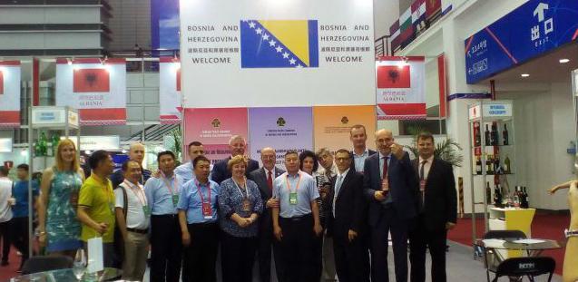 Devet kompanija iz BiH izlaže na Sajmu investicija i trgovine u Kini
