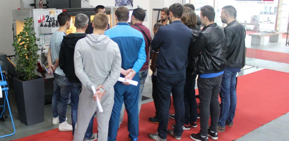 U INTERA TP održana probna predavanja za obuku CNC operatera