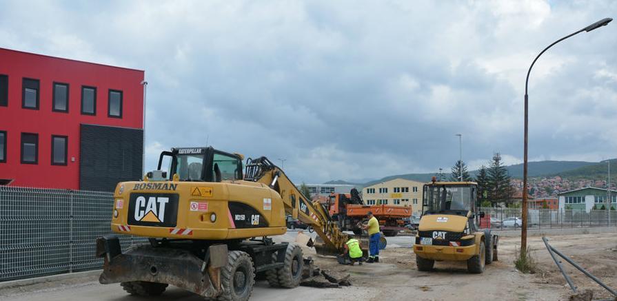 Privrednici u industrijskoj zoni Rajlovac dobijaju novu saobraćajnicu