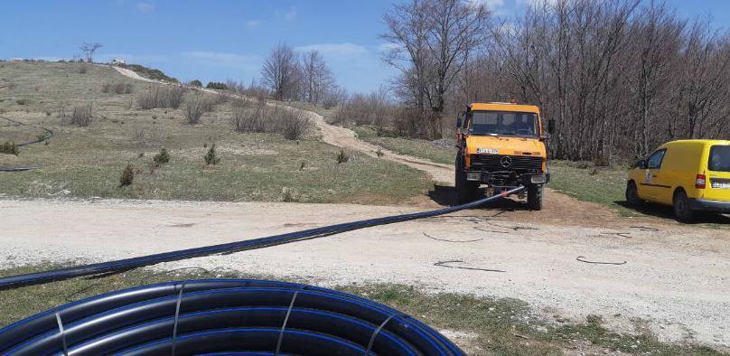 Počela sanacija lokalnih vodovoda u općini Trnovo