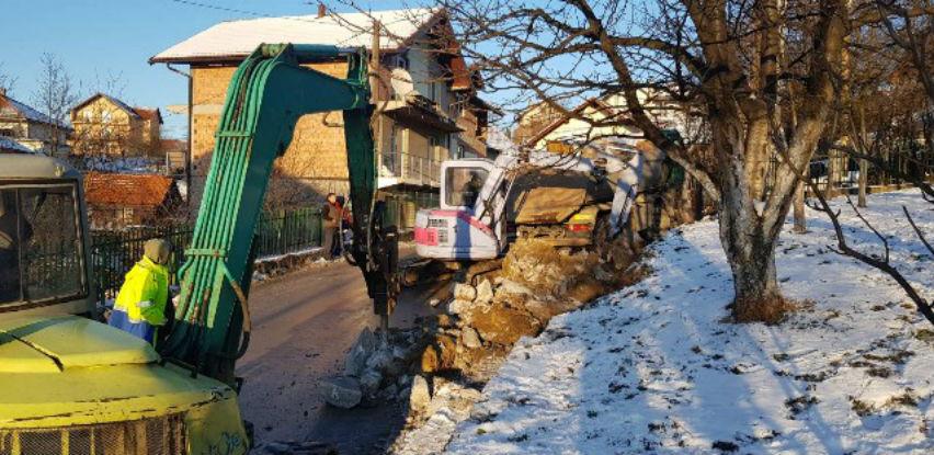U toku radovi na proširenju ulice Numan - paše Ćuprilića u Naselju Sokolje
