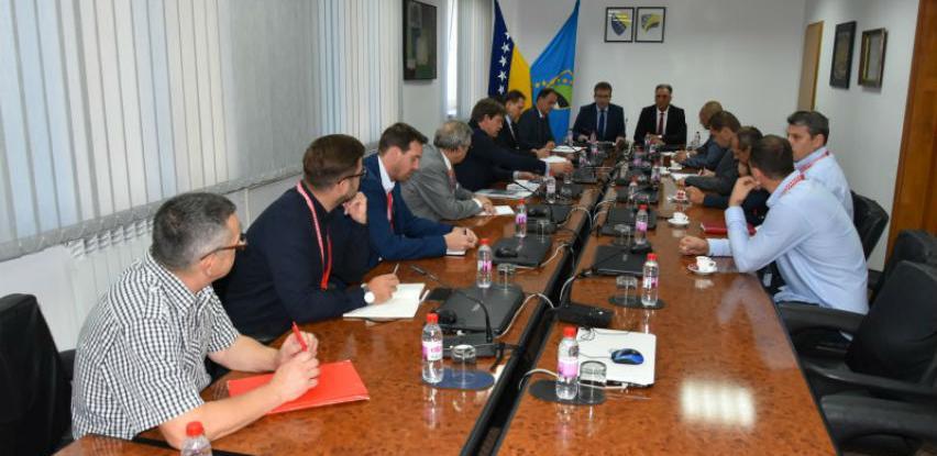 Austrijske kompanije zainteresirane za investicijske projekte na Aerodromu Tuzla