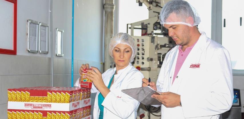 Vispak ojačao izvozne pozicije certificiranjem  po zahtjevima IFS Food standarda