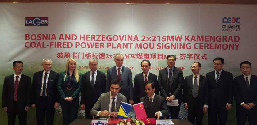 Potpisan Memorandum o saradnji za projekt Rudnik i TE Kamengrad