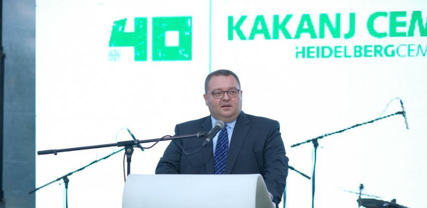 Obilježeno 40 godina postojanja Tvornice cementa Kakanj