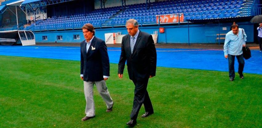 Potpisan ugovor o sufinansiranju radova na zamjeni terena stadiona Grbavica