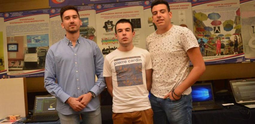 "Tri studenta iz Banja Luke izradila aplikaciju ""Pametni parking"""