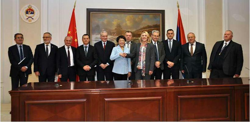 Unapređenje saradnje RS-a i Kine u oblasti saobraćaja i energetike