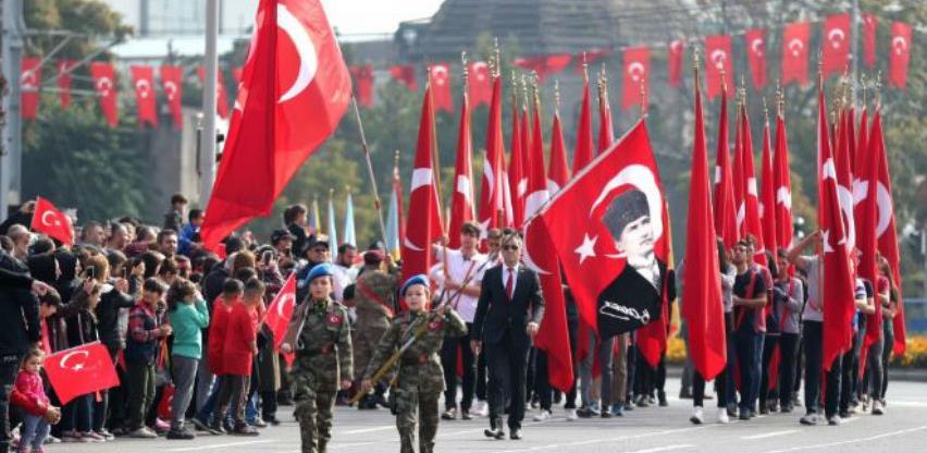 Širom Turske se obilježava 96. rođendan Republike i u BiH prigodne manifestacije