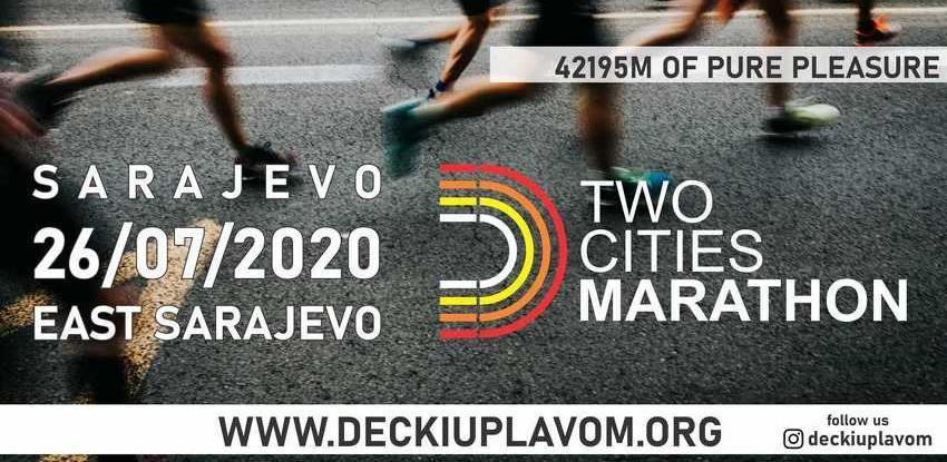 Velika maratonska utrka kroz Sarajevo i Istočno Sarajevo 26. jula