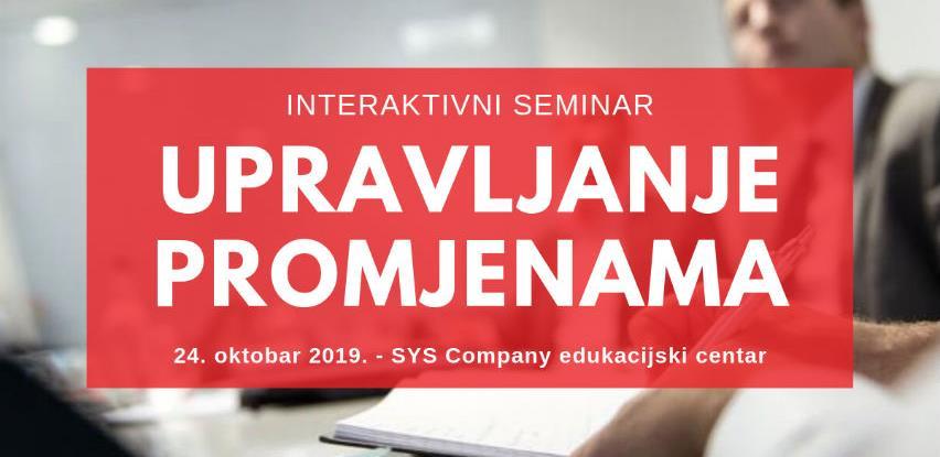 Seminar: Upravljanje promjenama