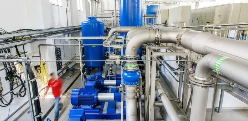 U probni rad pušten novi vodovodni sistem vrijednosti 2 miliona KM