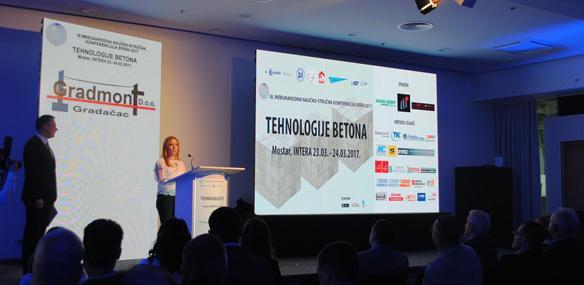 """Počela međunarodna konferencija """"Sfera 2017: Tehnologije betona''"""