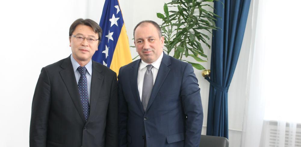 Japan želi da ulaže u konkretne projekte u BiH