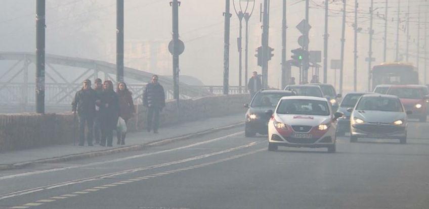 U Kantonu Sarajevo proglašena epizoda - Pripravnost zbog zagađenja zraka