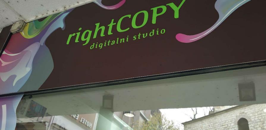 "Prodaje se firma ""Right copy"""