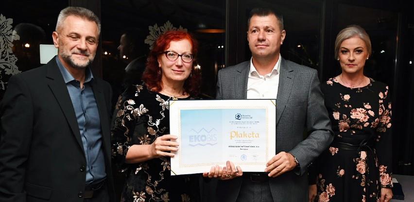 Priznanje za BBI banku na sajmu Ekobis Bihać 2021.