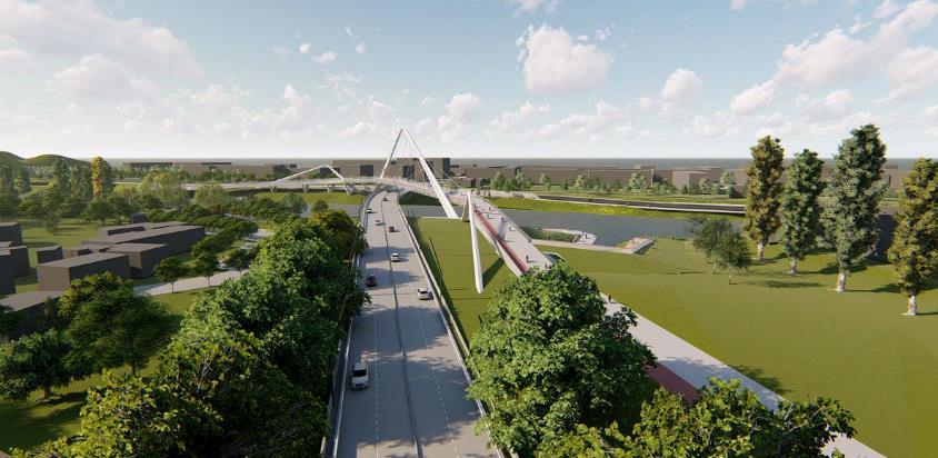 Most u banjalučkom Docu u projektovanju, prvi radovi na jesen
