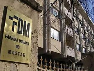Za Fabriku duhana Mostar iz tekuće rezerve 50.000 KM