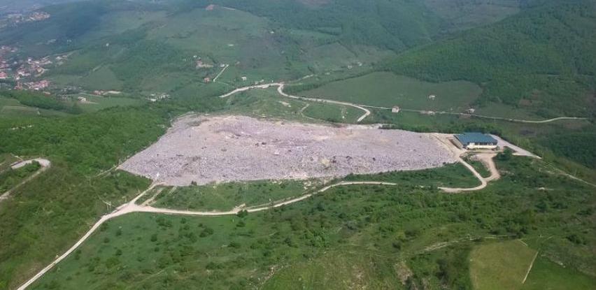 Odlaganje otpada na deponiji Smiljevići vrši se na sanitaran način