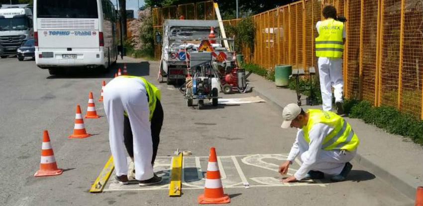 Radovi rekonstrukcije i održavanja prometnih znakova na graničnim prijelazima