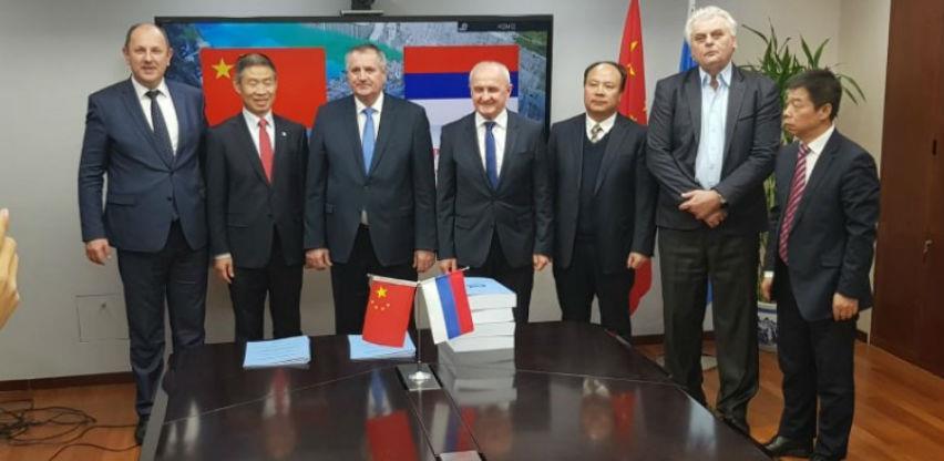 """Višković u Kini potpisao sporazum o izgradnji Hidroelektrane """"Bistrica"""""""