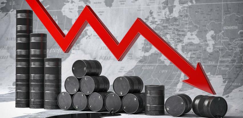 Pad cijena nafte na svjetskom tržištu