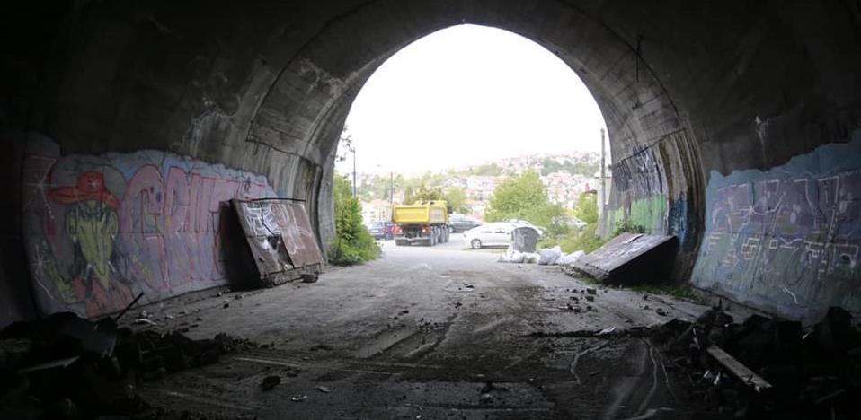 Počeli radovi na sanaciji i čišćenju tunela Ciglane