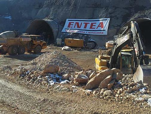 Entea: Gradnja cesta i autocesta