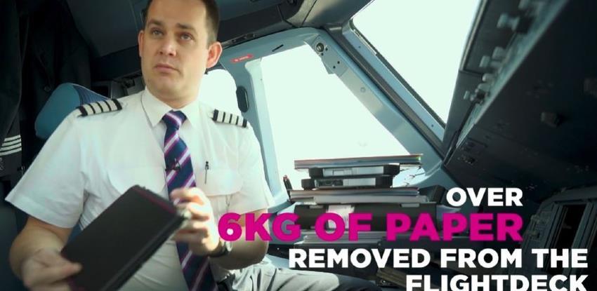 Piloti Wizz Aira dobijaju elektronske letačke torbe