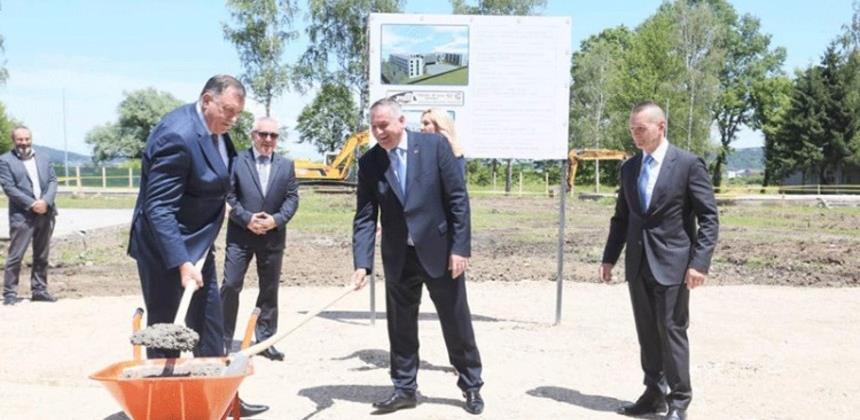 Počela gradnja internata Ministarstva unutrašnjih poslova RS