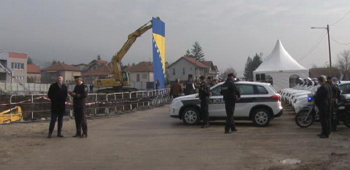 Napreduju radovi na izgradnji novog centra MUP-a ZDK