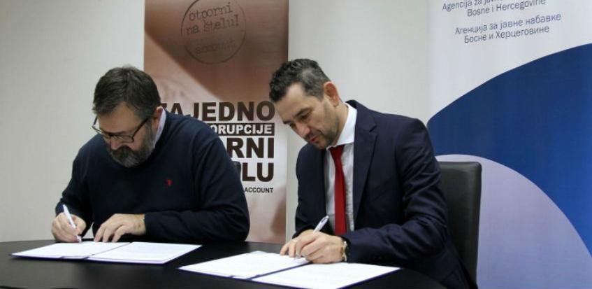Agencija za javne nabavke BiH i Account potpisali Memorandum o saradnji