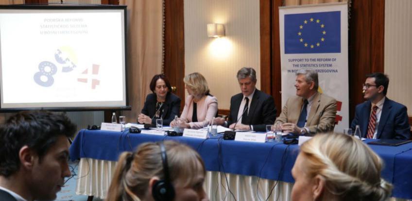Statistika će igrati bitnu ulogu u daljnjem napretku BiH ka EU